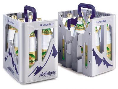 Adelholzener Heilwasser 12 x 0,75 Glas