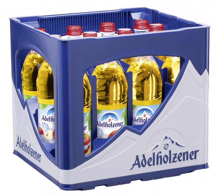 Adelholzener heim. Apfelschorle 12 x 0,5 Glas