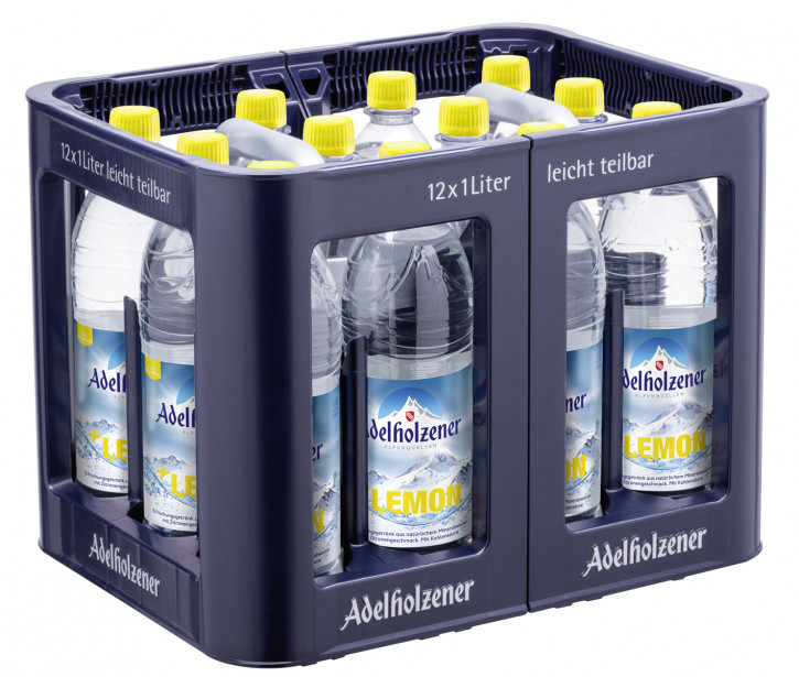 Adelholzener Lemon 12 x 1,0 PET