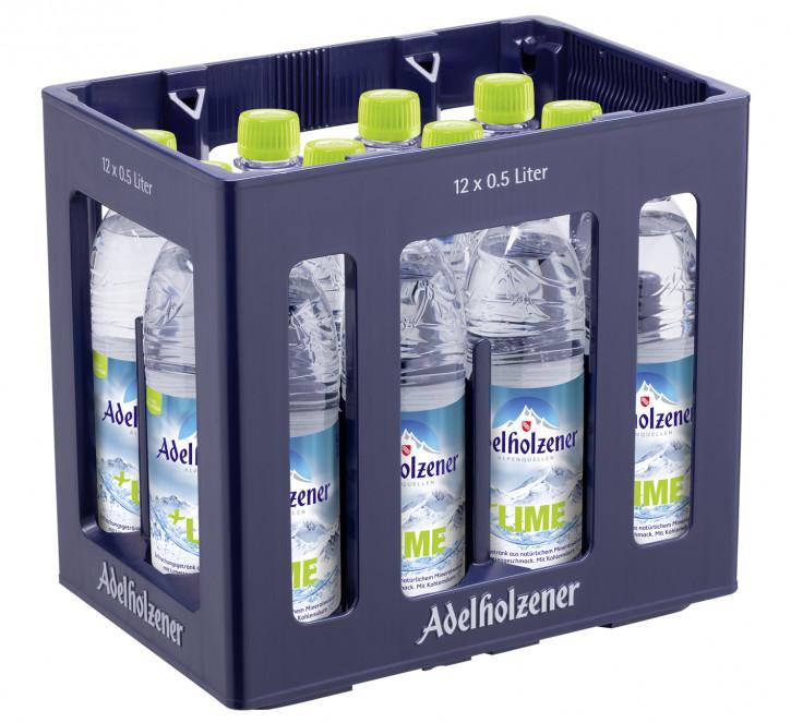 Adelholzener + Lime12 x 0,5 PET