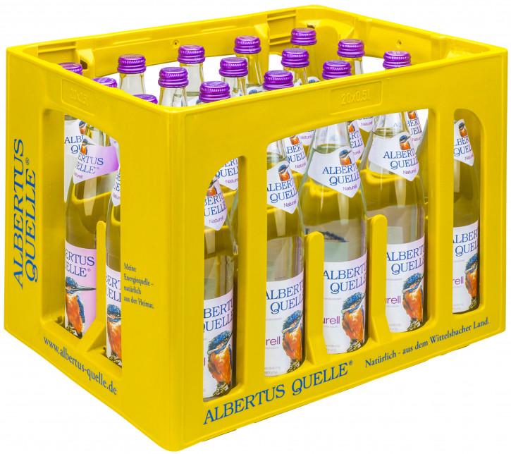 Albertusquelle naturell  20 x 0,5 Glas