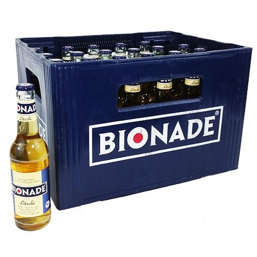 Bionade Litschi 24 x 0,33 Glas