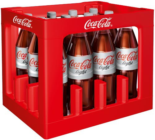 Coca Cola light 12 x 1,0 PET