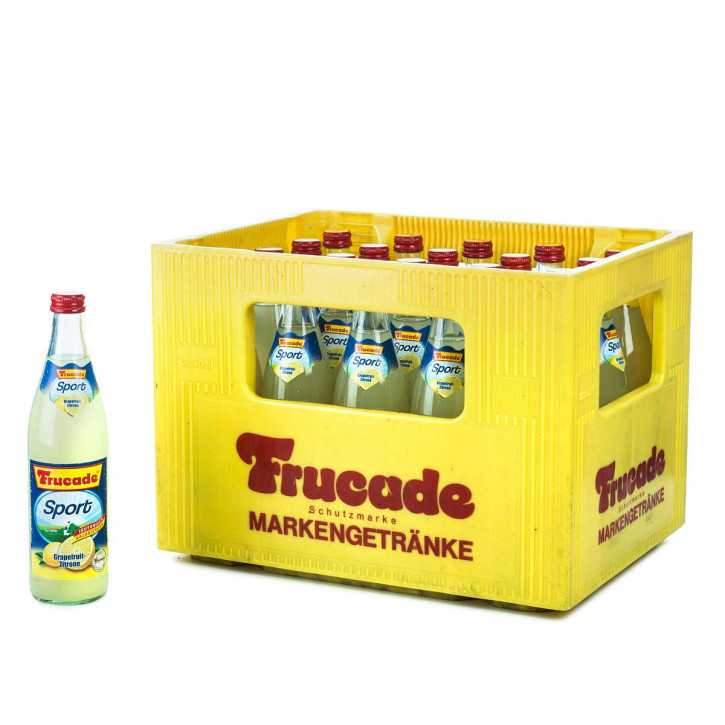 Frucade Iso-Sport 20 x 0,5 Glas
