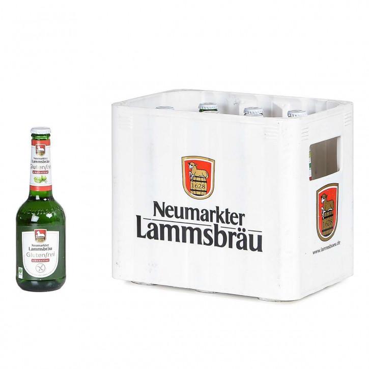 Lammsbräu Öko glutenfrei alkoholfrei 10 x 0,33