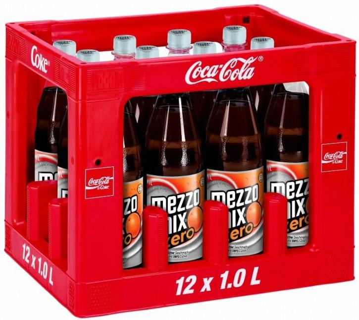 Mezzo Mix Zero 12 x 1,0 PET