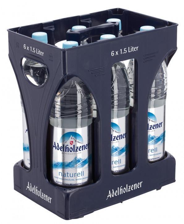 Adelholzener naturell 6 x 1,5 PET