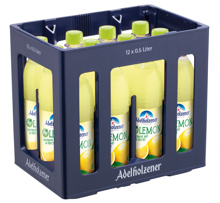 Adelholzener Bio Lemon 12 x 0,5 PET
