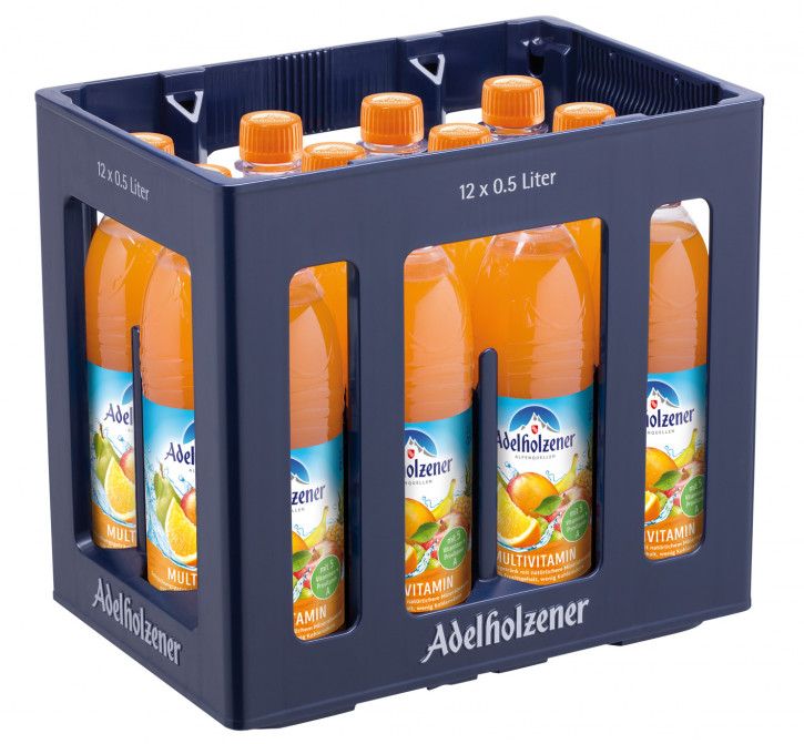 Adelholzener Multivitamin 12 x 0,5 PET