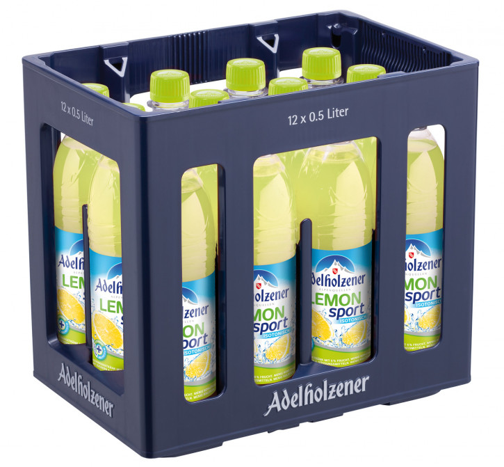 Adelholzener Sport Lemon 12 x 0,5 PET
