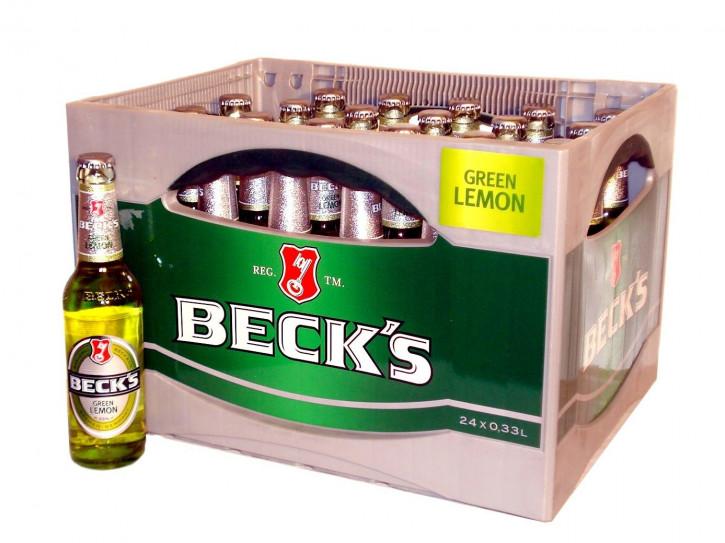 Beck's Green Lemon 24 x 0,33