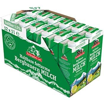 Berchtesgadener H-Milch 1,5 % Tetra 12er