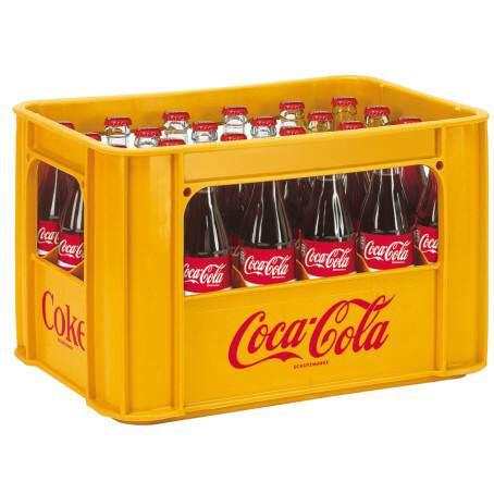 Coca Cola  24 x 0,33 Glas