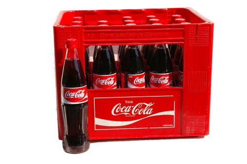 Coca Cola  20 x 0,5 Glas