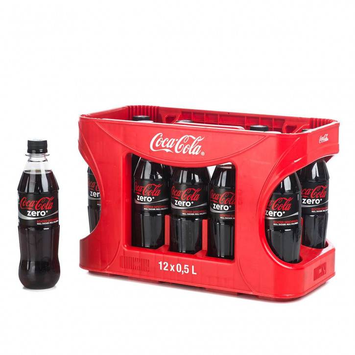 Coca Cola Zero 12 x 0,5 PET