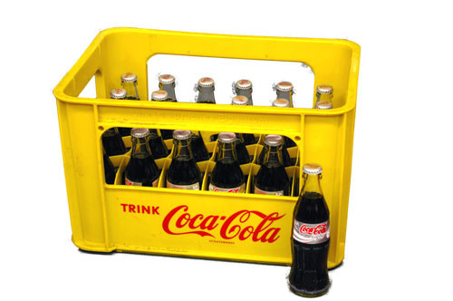 Coca Cola light 24 x 0,2 Glas