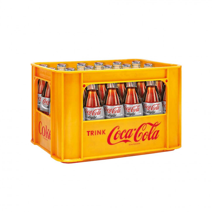 Coca Cola light 24 x 0,33 Glas
