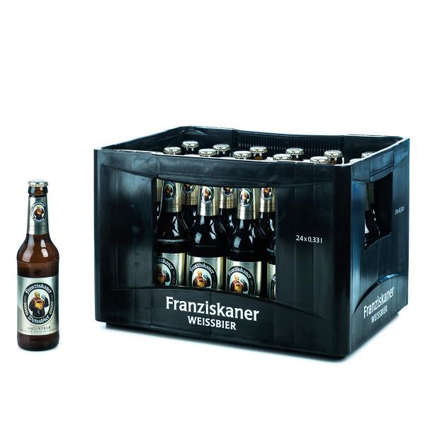 Franziskaner Weißbier Hell  24 x 0,33