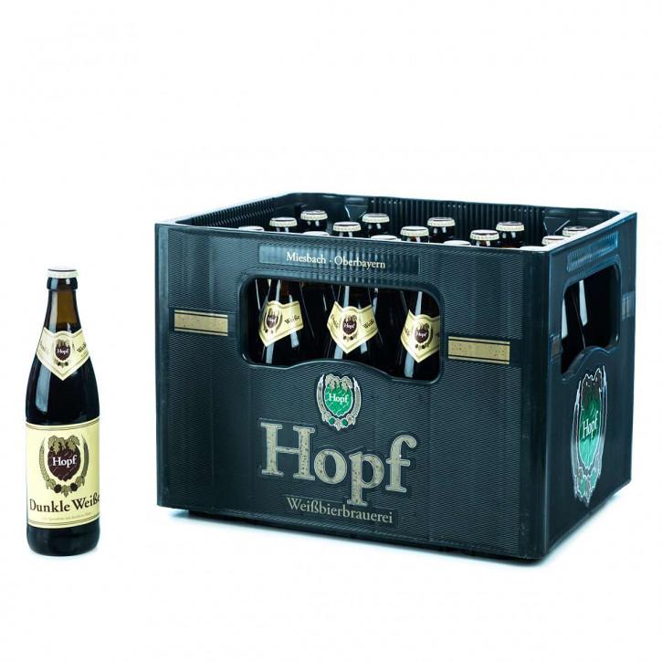 Hopf Weißbier Dunkel 20 x 0,5