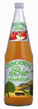 Jacoby Bio-Apfelsaft trüb 6 x 1,0 Glas