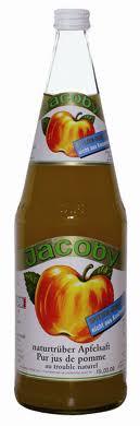 Jacoby Apfelsaft trüb 6 x 1,0 Glas
