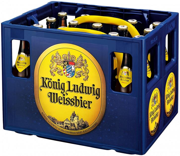 König Ludwig Weißbier Hell 20 x 0,5
