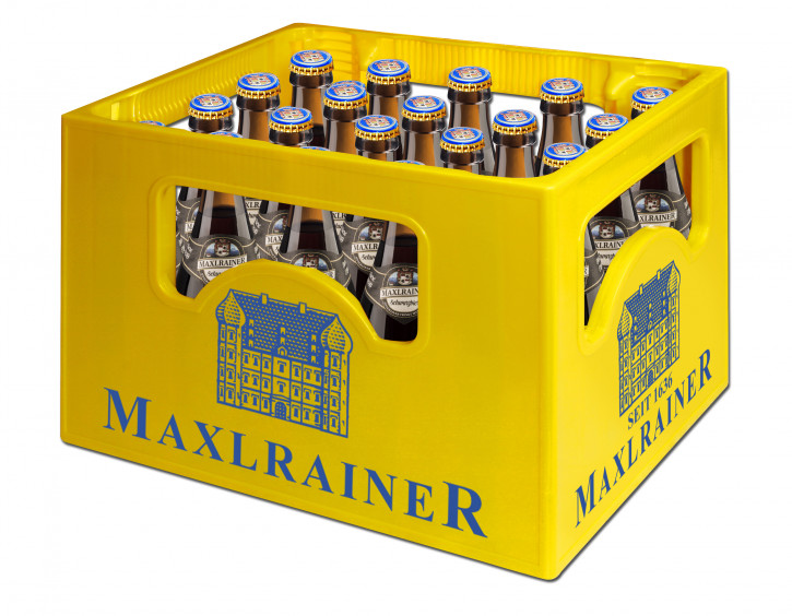 Maxlrainer Schwarzbier 20 x 0,5