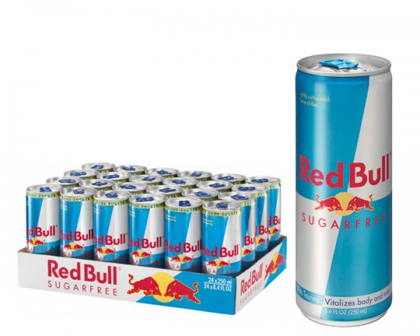 Red Bull Sugarfree 24 x 0,25 Pfanddosen