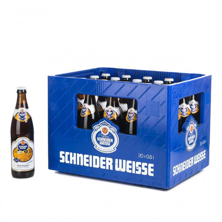 Schneider Weißbier Original dunkel 20 x 0,5