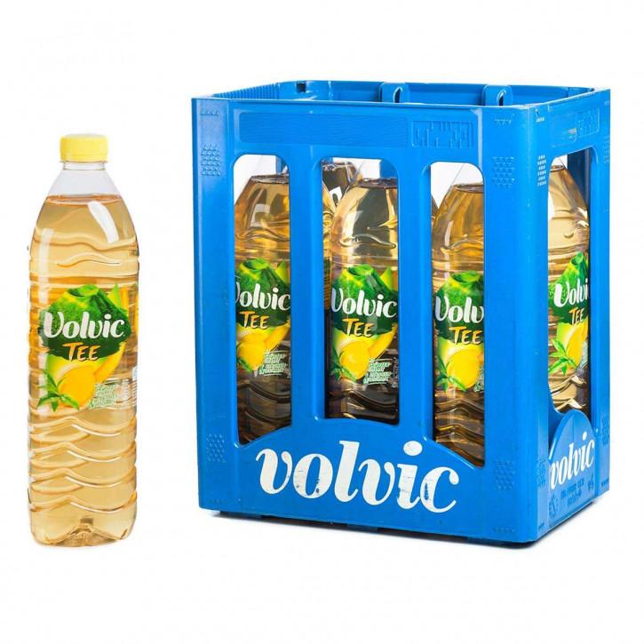 Volvic Eistee Zitrone 6 x 1,5 PET